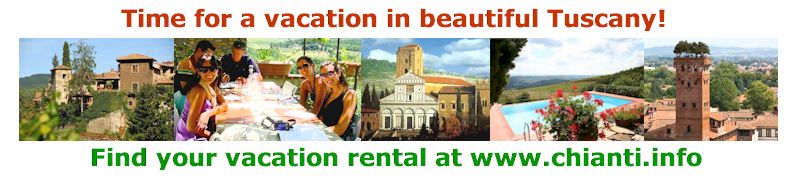 Vacation accommodation in Chianti